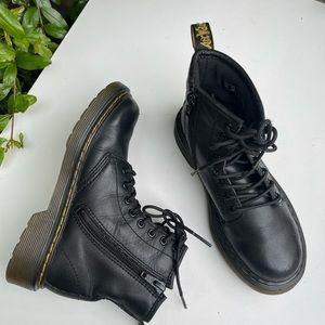 Dr.Martens🔴Combat black boots Sz 13 toddler